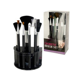 Cosmetic Brush Set With Stand ( Case of 16 )