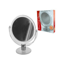 Dual Sided Round Stand Up Vanity Mirror ( Case of 16 )