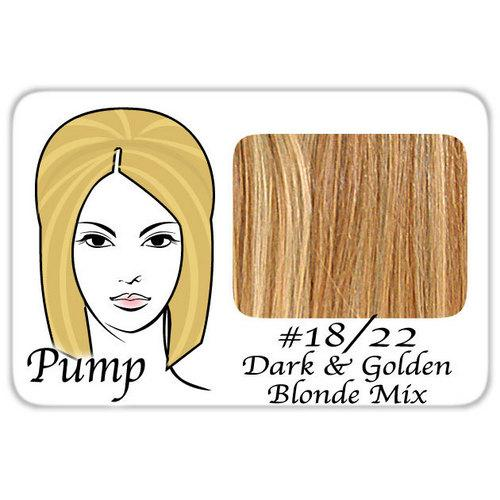 #18/22 Dark Blonde w/ Golden Highlights Pro Pump