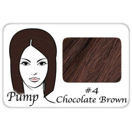 #4 Chocolate Brown Pro Pump - Tease With Ease