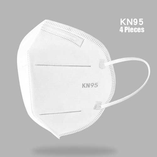 4 Pieces / Pack 0f KN95 Masks Passed The GB-2626-KN95 Test