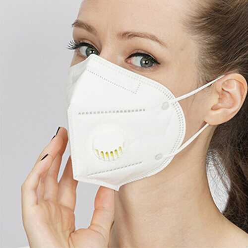 KN95 Masks With breathing valve