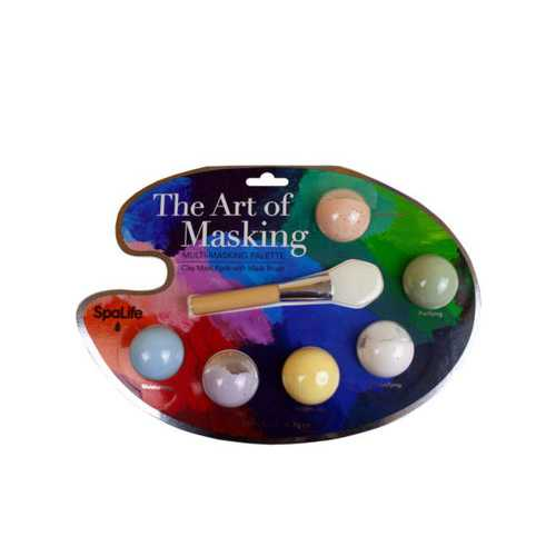 Art of Masking Multi Masking Facial Palette With Brush ( Case of 6 )