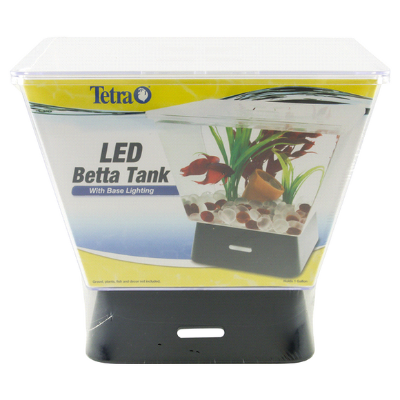 Tetra Betta Tank LED Aquarium, 1 Gallon