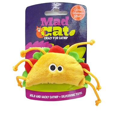 Mad Cat Tabby Taco Catnip & Silvervine Cat Toy