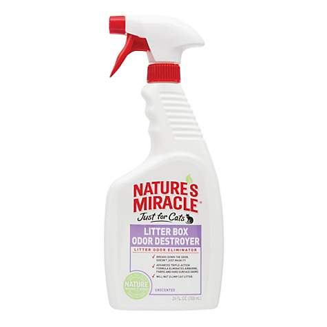 Nature's Miracle Just For Cats Litter Box Odor Destroyer
