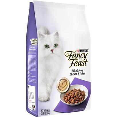 Fancy Feast Gourmet Savory Chicken & Turkey Dry Cat Food