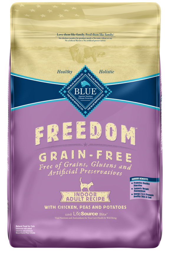 Blue Buffalo Freedom Grain Free Indoor Chicken Recipe Dry Cat Food