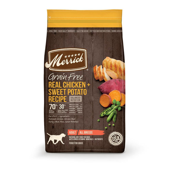 Merrick Grain Free Real Chicken and Sweet Potato Dry Dog Food