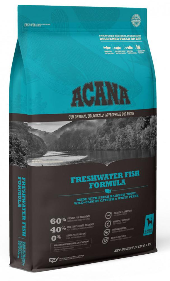 ACANA Freshwater Fish Formula Grain Free Dry Dog Food