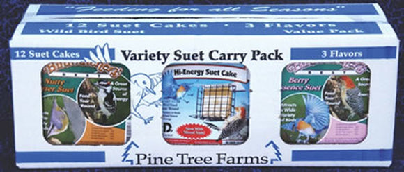Pine Tree Farms Three Flavor Suet Pack