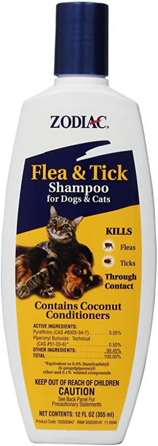 Zodiac Flea & Tick Shampoo for Dogs & Cats