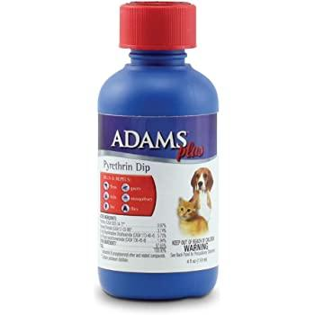 Adams Plus Flea & Tick Pyrethrin Pet Dip