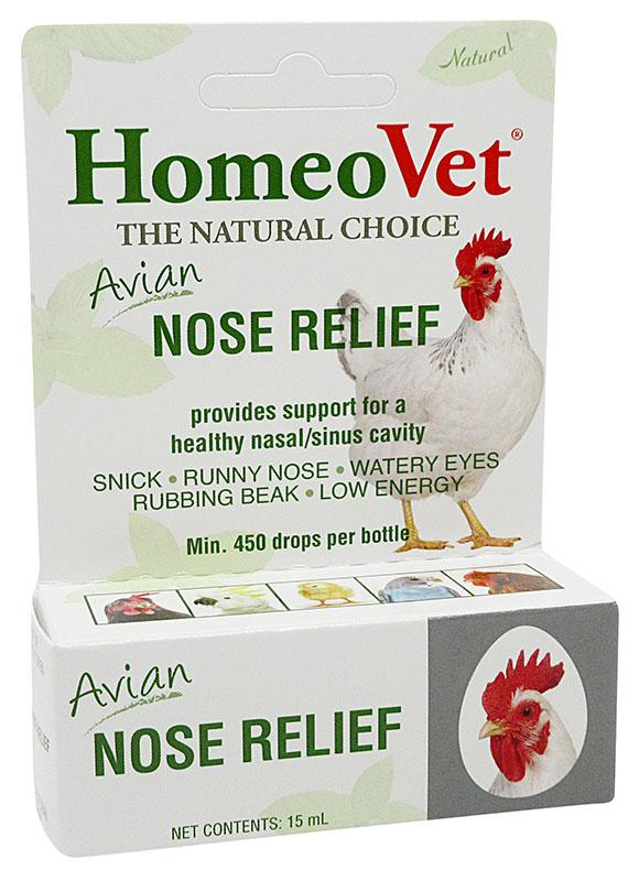 HomeoVet Avian Nose Relief