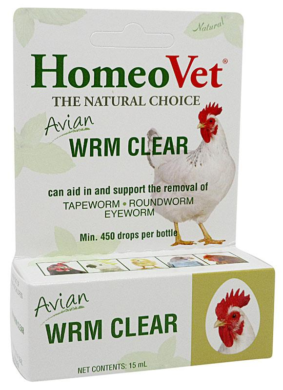 HomeoVet Avian Worm Clear