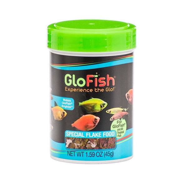 GloFish Special Flakes Fish Food 1.59 oz