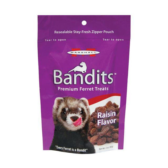 Marshall Bandits Raisin Flavor Ferret Treats