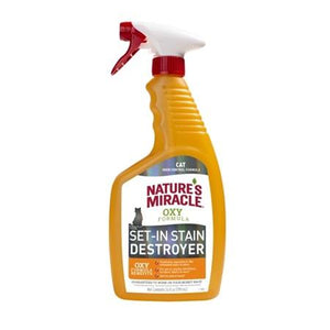Nature's Miracle Oxy Formula Set-In Stain Destroyer For Cats