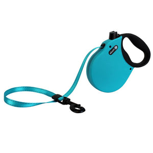 Alcott Retractable Leash Blue