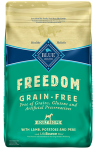 Blue Buffalo Freedom Adult Lamb Recipe Dry Dog Food