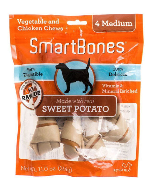 SmartBones Sweet Potato Chews - Medium