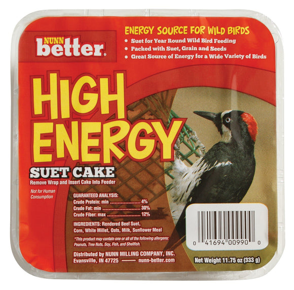 Nunn Better High Energy Suet Cake