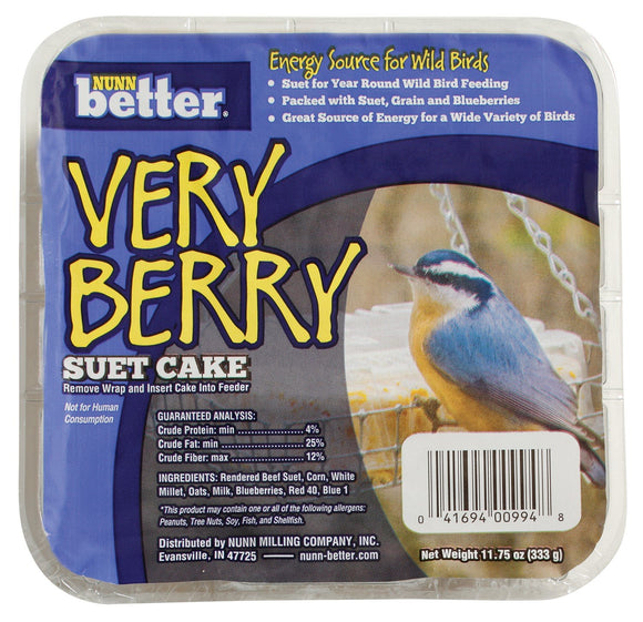 Nunn Better Very Berry Suet Cake