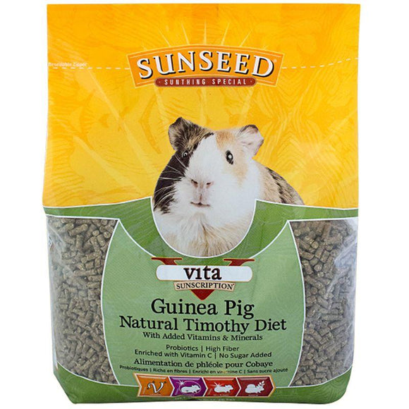 Sunseed Vita Natural Timothy Guinea Pig Diet