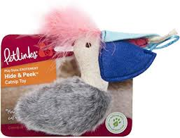 Petlinks Sea Hide & Peek Pelican & Fish Cat Toy with Catnip