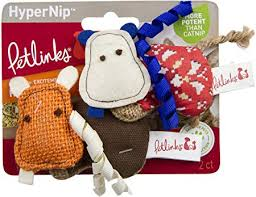 Petlinks Hyper Hippos Hypernip Cat Toy