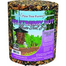 Pine Tree Farms Fruit Berry Nut Classic Seed Log 68 oz