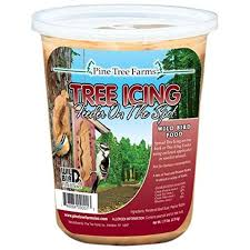 Pine Tree Farms Tree Icing Bird Suet Spread - 28 oz
