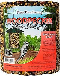 Pine Tree Farms Woodpecker Classic Seed Log 76 oz