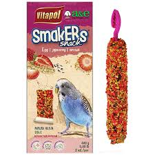 Smakers Snack Zebra Finch Treat Sticks - Fruit 2pk