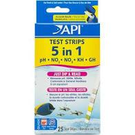 API 5in1 TEST STRIPS