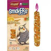 Smaker Snack Orange Treat Sticks- Cockatiels 2 pk