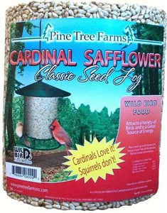 Pine Tree Farms Cardinal Safflower Classic Seed Log- 62 oz