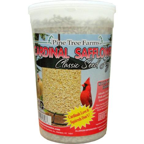 Pine Tree Farms Cardinal Safflower Classic Bird Seed Log - 26oz