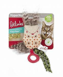 Petlinks HyperNip Foxy Flyer Launcher Cat Toy with Catnip