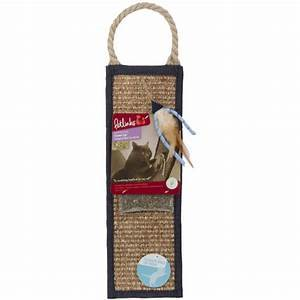 Petlinks Claws Up Hanging Sisal Scratcher with Catnip