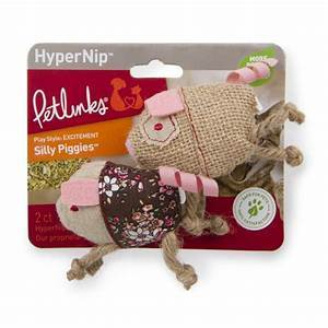 Petlinks HyperNip Silly Piggies: 2 count