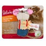 Petlinks Garden Farmer Nip Cat Toy with Catnip