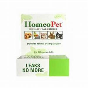 HomeoPet Leaks No More Dog, Cat, Bird & Small Animal Supplement, 450 drops