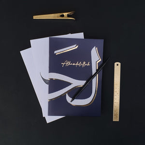 NEW Gold Foiled A5 Notebooks by Safar London