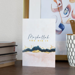 New Ethereal Watercolour and Gold Collection Greeting Cards by Safar London