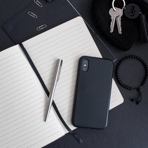 Alhamdulillah Embossed Black A5 Notebook by Safar London