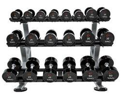 TAG 3 Tier Dumbbell rack with Saddles (10 Pair)