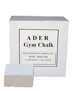 Ader Gym Chalk 1 lb block per box (8-2oz blocks)