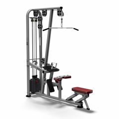 Atlantis Strength MSS9101 Duals Series Selectorized Lat Pulldown/Low Row with 300 lb Weight Stack