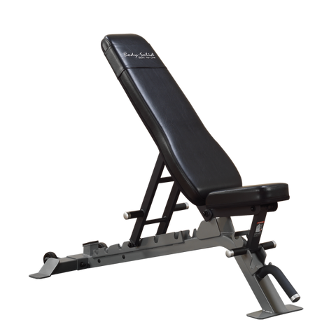Body Solid Adjustable Utility Bench Commercial 3 Way SFID325